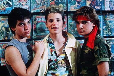 Lost Boys  - Jamison Newlander, Corey Haim, Corey Feldman