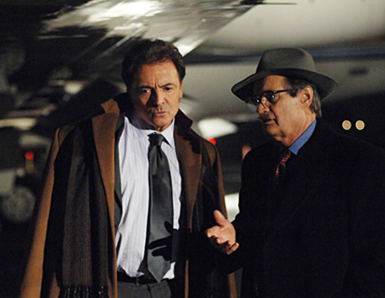 "NCIS - ""Blowback"" - Guest star Armand Assante as La Grenouille, David McCallum as Ducky"