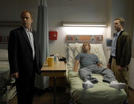 "Law & Order: Criminal Intent - Season 7, ""Seeds"" - Michael O'Keefe as Dr. Eli Rush, Cameron Bowen as Ralph Lucas, Devon Gummersall as tom Pittino"
