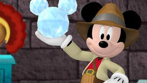 First Look: Mickey Mouse Turns Indiana Jones