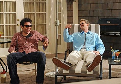 "How I Met Your Mother - Season 8 - ""Weekend at Barney's"" - Josh Radnor, Neil Patrick Harris"