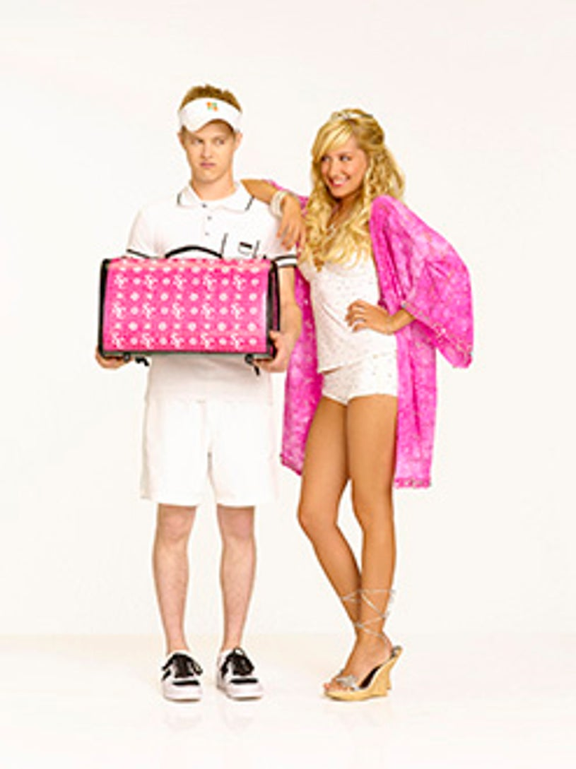 High School Musical 2 - Lucas Grabeel as Ryan Evans and Ashley Tisdale as Sharpay Evans
