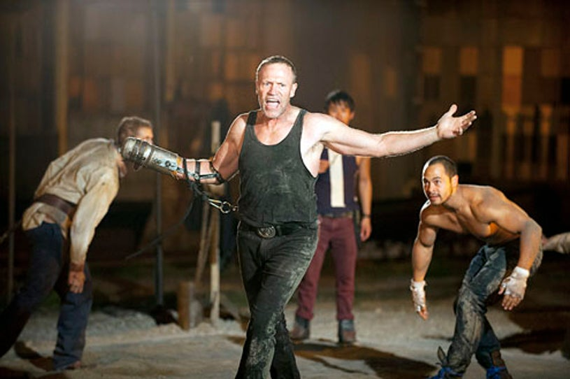 """The Walking Dead - Season 3 - """"Say the Word"""" - Michael Rooker and Jose Pablo Cantillo"""