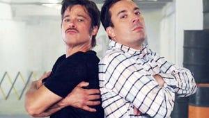 Top Videos: Freak Show Tackles Fiona Apple, Jason Biggs Pees on Chelsea Handler, Brad Pitt Breakdances