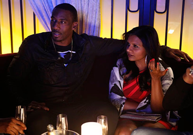"""The Mindy Project - Season 1 - """"In the Club"""" - Mindy Kaling, Amar'e Stoudemire"""