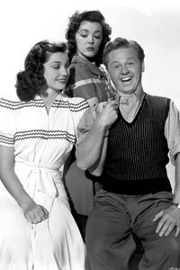Ann Rutherford as Spirit of Christmas Past