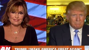Sarah Palin and Donald Trump Gush Over Each Other in New Interview