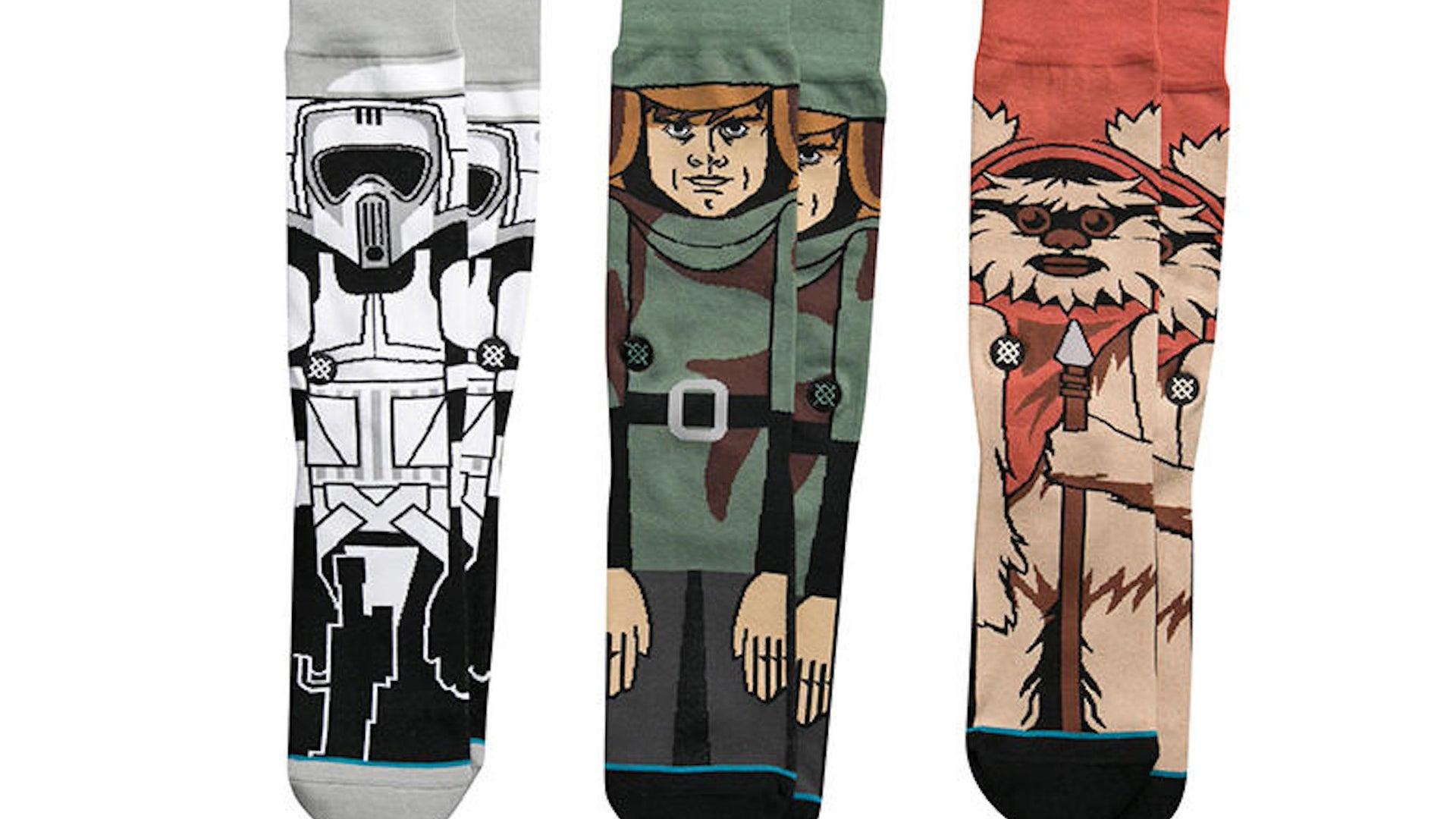 Return of the Jedi socks