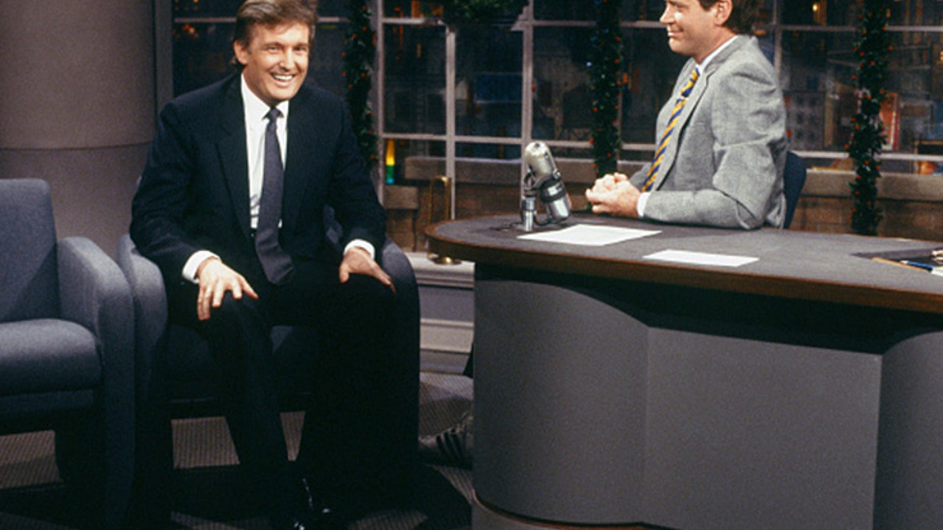Donald Trump and David Letterman, Late Night with David Letterman