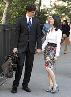 Cashmere Mafia - Pilot Episode - Tom Everett Scott as Jack Cutting, and Lucy Liu as Mia