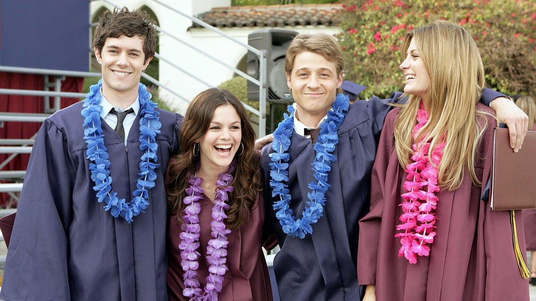 Adam Brody, Rachel Bilson, Ben McKenzie, and Mischa Barton, The O.C.