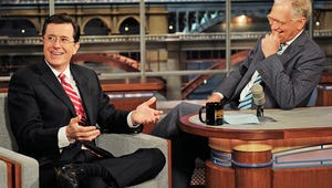 """VIDEO: Stephen Colbert """"Thrilled and Honored"""" to Be Replacing David Letterman"""