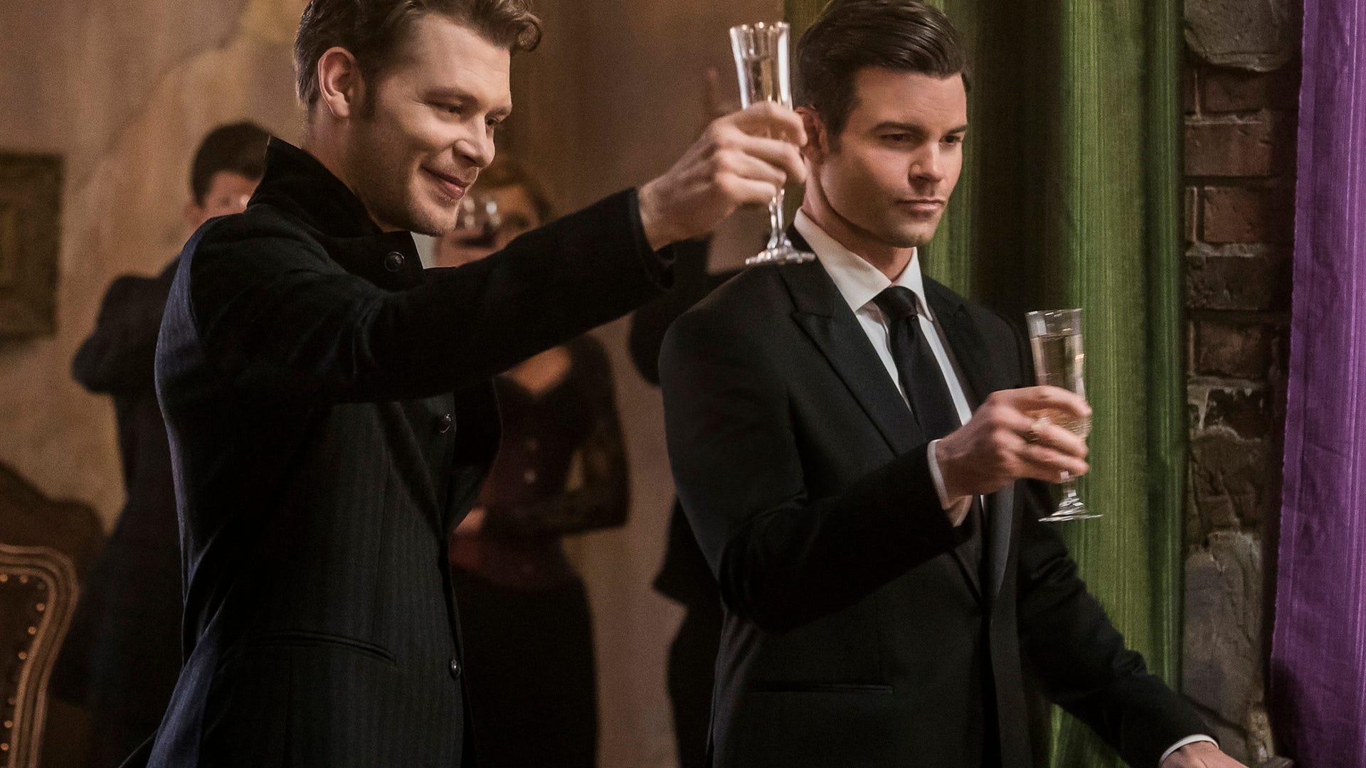 Joseph Morgan and Daniel Gillies, The Originals