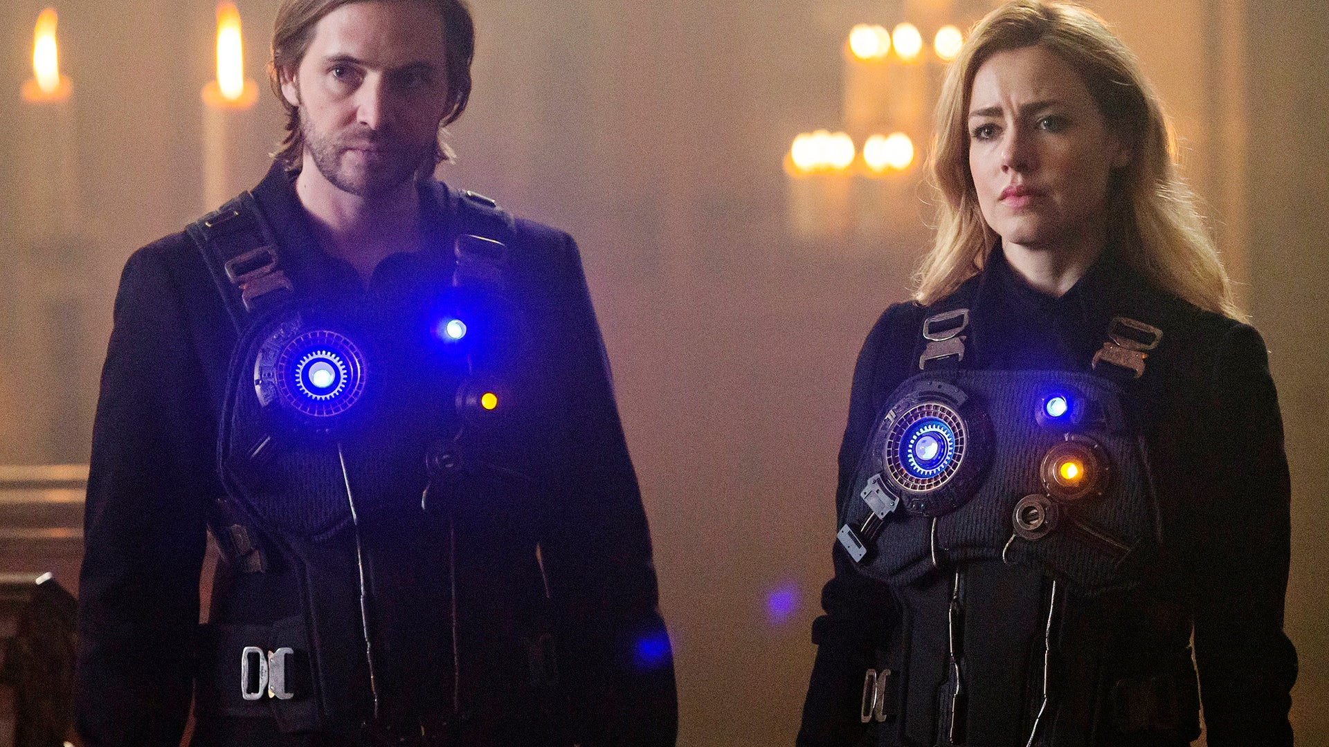 Aaron Stanford and Amanda Schull, 12 Monkeys