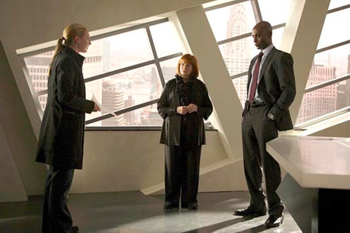 "Fringe - Season 2 - ""Of Human Action"" - Anna Torv, Blair Brown and Lance Reddick"
