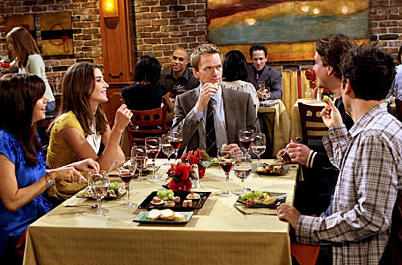 """How I Met Your Mother - Season 4, """"Happily Ever After"""" - Alyson Hannigan as Lily, Cobie Smulders as Robin, Neil Patrick Harris as Barney, Jason Segel as Marshall, Josh Radnor as Ted"""