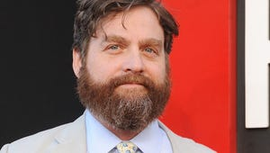 Zach Galifianakis Took Woman He Saved From Being Homeless to Hangover III Premiere