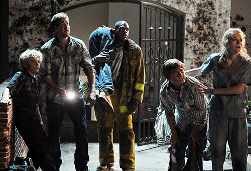 Meteor - Jimmy Jax Pinchak as Michael Hapscomb, Kenneth Mitchell as Russ Hapscomb, Erin Cottrell as Chelsea Hapscomb