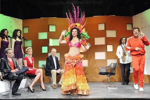 "Saturday Night Live - Season 37 - ""Maya Rudolph"" - Nasim Pedrad, Bill Hader, Vanessa Bayer, Kate Upton, Bill O'Reilly, Maya Rudolph, Fred Armisen and Jason Sudeikis"