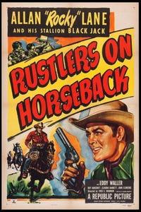 Rustlers on Horseback as Josh Taylor