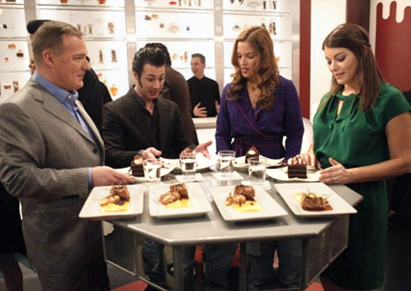 Top Chef: Just Desserts - Season 1 - Jacques Torres, Johnny Iuzzini, Dannielle Kyrillos and Gail Simmons