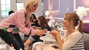 VIDEO: Nail Files' Katie Cazorla Flips for Candace Cameron Bure