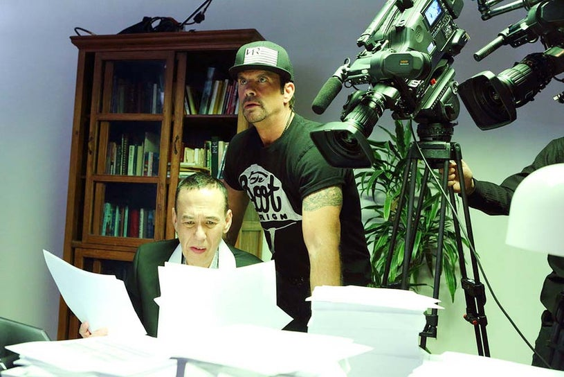 The Celebrity Apprentice - Season 14 - Gilbert Gottfried and Lorenzo Lamas
