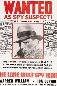 The Lone Wolf Spy Hunt as Spiro Gregory