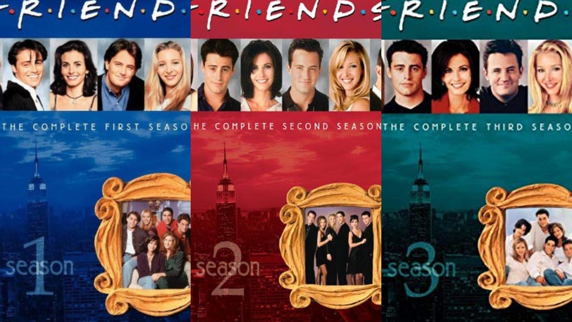FRIENDS DVDs