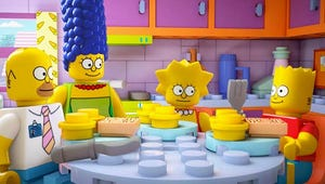 Exclusive: Inside The Simpsons' Very Special LEGO Episode