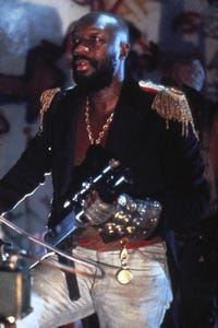 Isaac Hayes as Minister