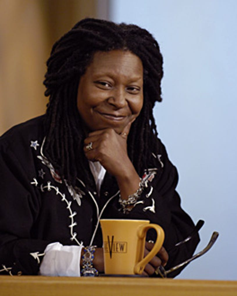 The View - Season 11 Premiere - Whoopi Goldberg is the show's new moderator