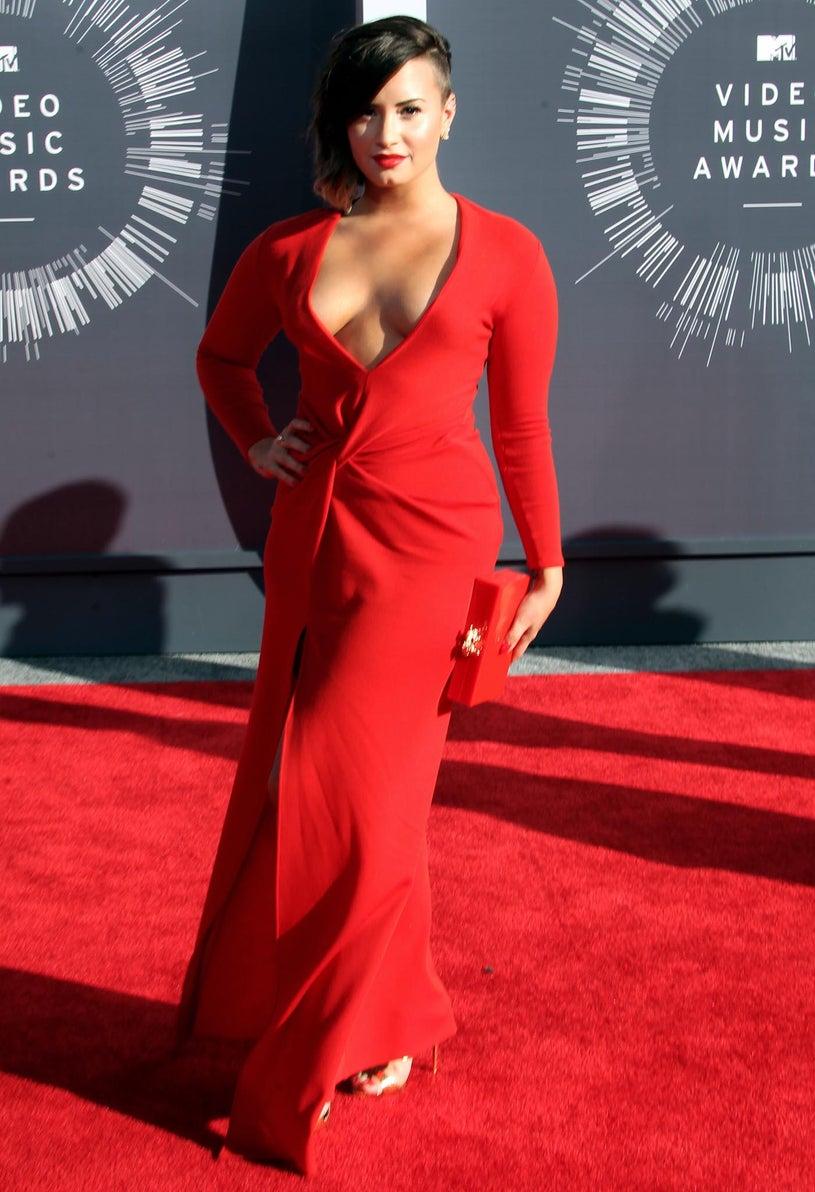 Demi Lovato - 2014 MTV Video Music Awards in Inglewood, California, August 24,2014