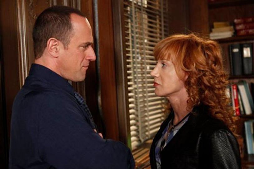 """Law & Order: Special Victims Unit - Season 11 - """"P.C."""" - Christopher Meloni and Kathy Griffin"""