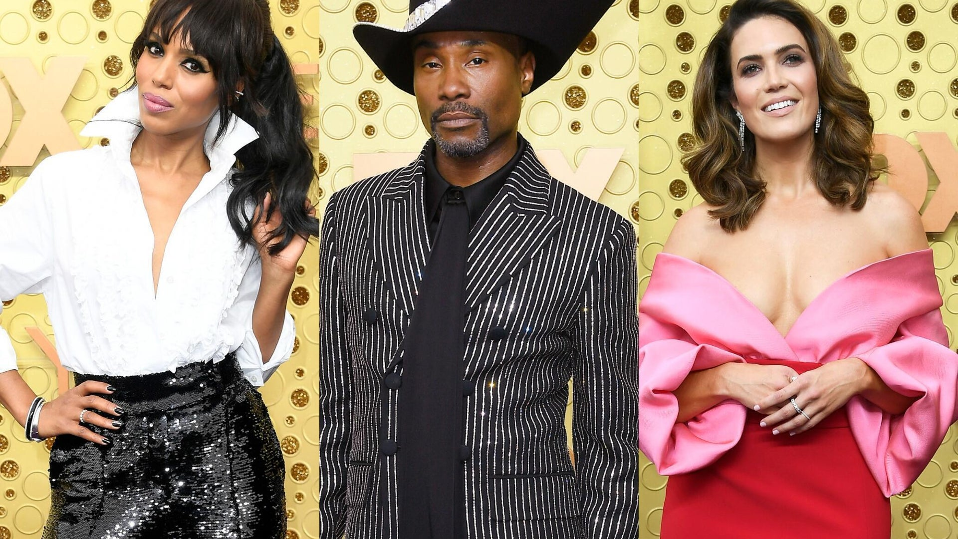 Kerry Washington, Billy Porter, and Mandy Moore