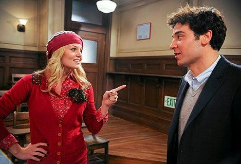 "How I Met Your Mother - Season 6 - ""A 'Like Me' Story - Jennifer Morrison, Josh Radnor"