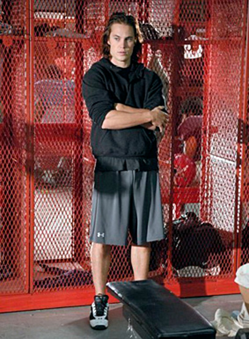 """Friday Night Lights - Season 4 - """"In The Skin of a Lion"""" - Taylor Kitsch as Tim"""