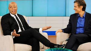J.R. Martinez to Dr. Oz: My Mother Got Me Out of My Dark Hole of Depression, Anger and Regret