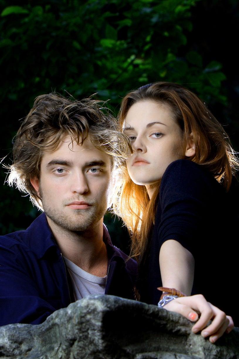 Robert Pattinson and Kristen Steward, October 31, 2008 during Rome FilmFest