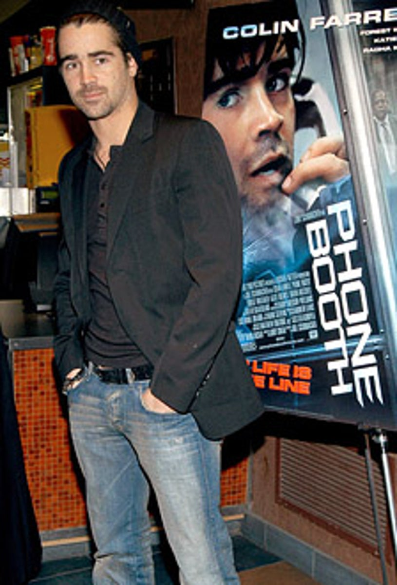 """Colin Farrell - Special New York Screening of """"Phone Booth"""""""