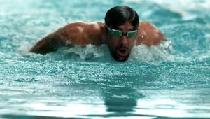 Here's What Happened When Michael Phelps Raced a Great White Shark
