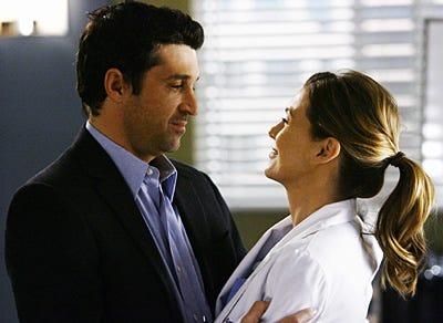 "Grey's Anatomy - Season 5 - ""Now or Never"" - Patrick Dempsey,  Ellen Pompeo"