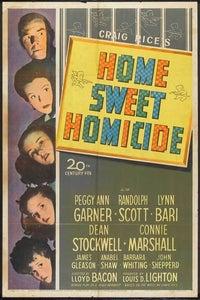 Home Sweet Homicide as Luke