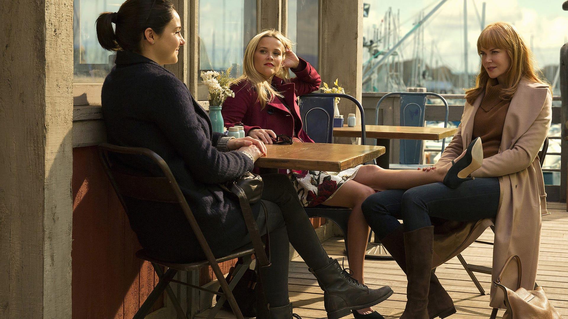 Shailene Woodley, Reese Witherspoon, Nicole Kidman, Big Little Lies