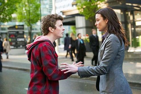 "Continuum - Season 1 - ""Endtimes"" - Erik Knudsen and Rachel Nichols"
