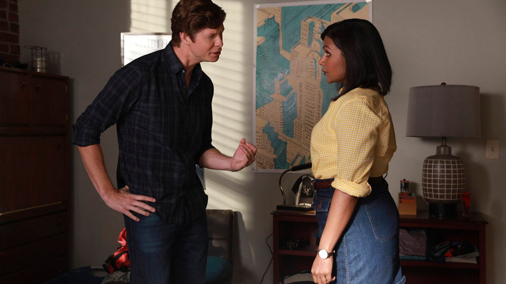 Anders Holm, Mindy Kaling; Champions