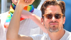 Channing Tatum and Matt Bomer Blessed the L.A. Pride Parade With Their Presence