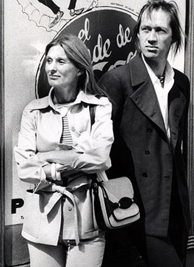 Cloris Leachmand and David Carradine - 28th Annual Tony Awards rehearsal, April 12, 1974