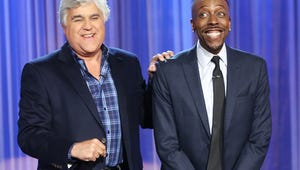 Jay Leno Appears on The Arsenio Hall Show to Announce Season 2 Renewal