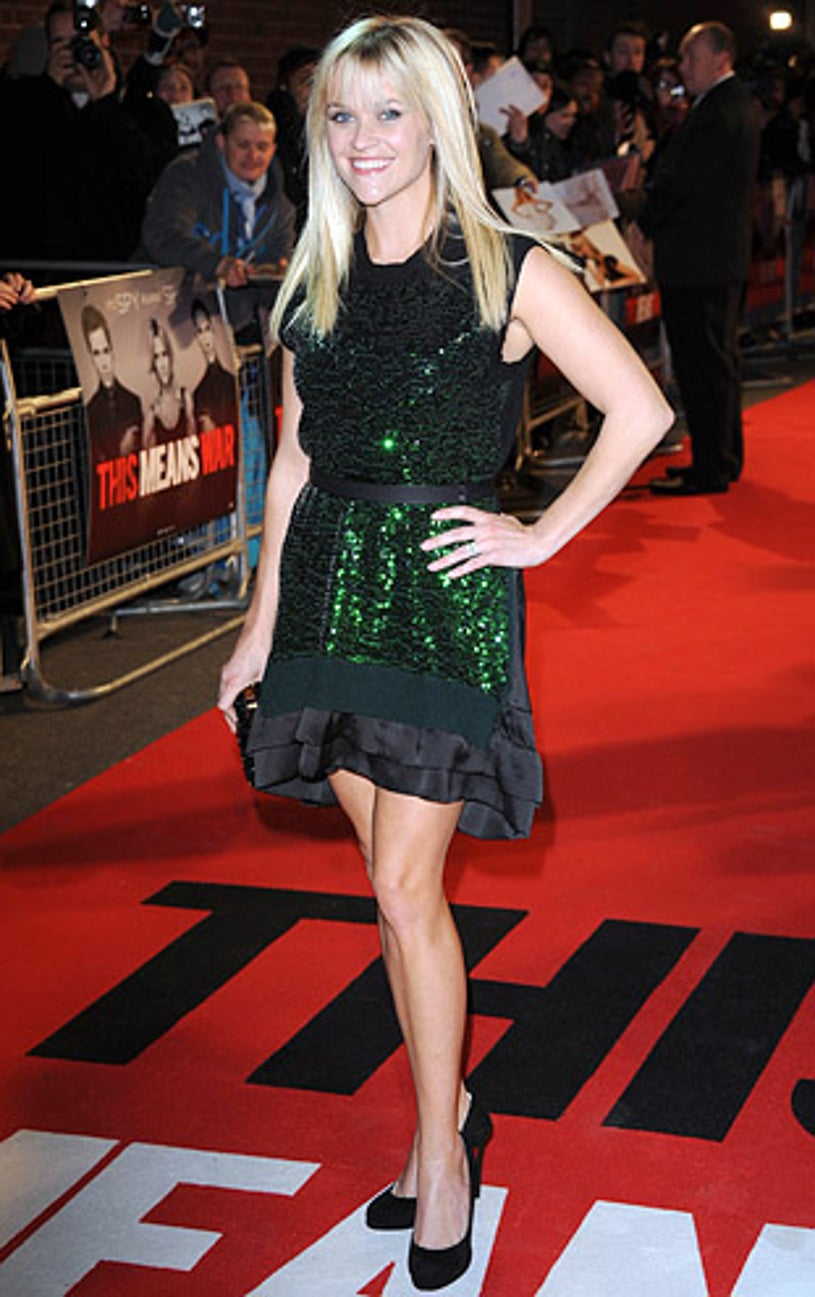 """Reese Witherspoon - The UK premiere of """"This Means War"""" in London, January 30, 2012"""